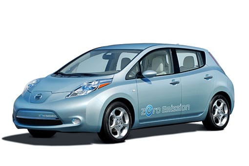 Nissan Leaf, coche eléctrico