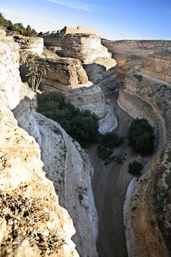 Cañón en Túnez