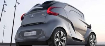 El BB1 eléctrico de Peugeot circula por Madrid