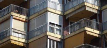 Bloque de viviendas de pisos.