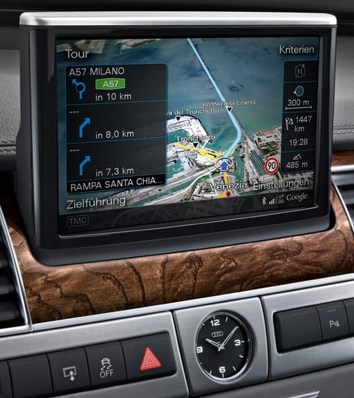 Audi A8 Google Earth
