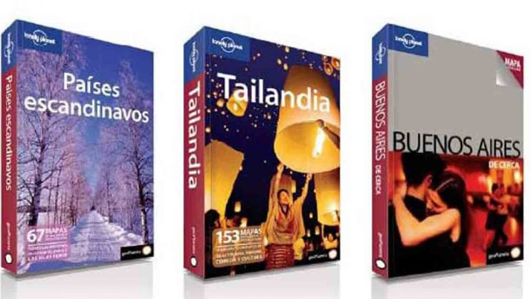 Diez años de las Lonely Planet
