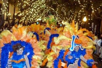 Carnaval en la isla de Madeira
