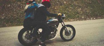 Los cascos de moto tipo jet son poco seguros