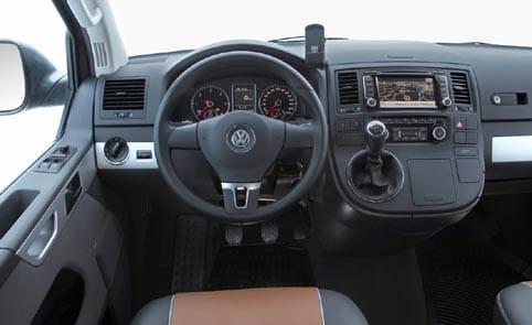 T5 Volkswagen interior
