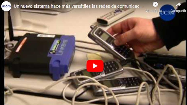 Video explicativo del funcionamiento del sistema de telecomunicaciones