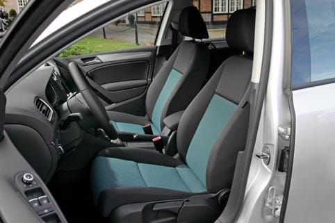 Interior del Golf Bluemotion