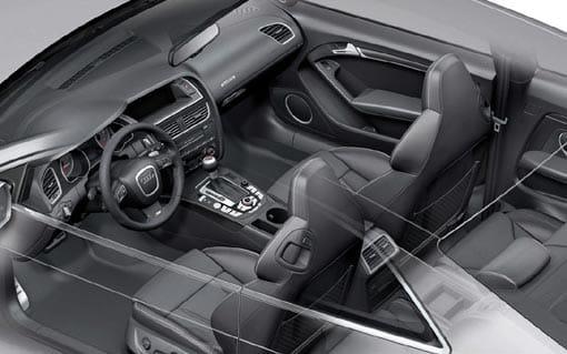Motor del Audi RS5