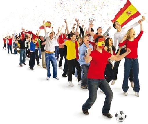Afición española del Mundial