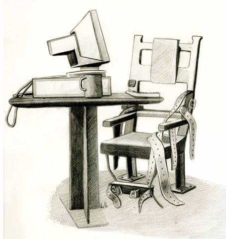 Pegados a la silla sin hacer nada: presentismo laboral