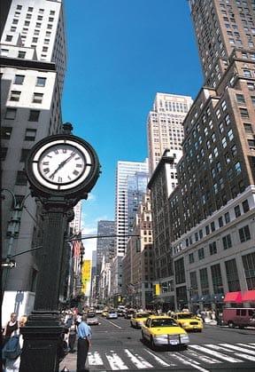 Quinta Avenida de Nueva York, un lugar ideal para ir de compras.