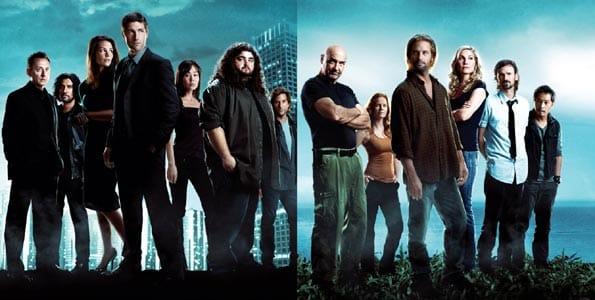 Personajes de la serie de televisión 'Lost'.