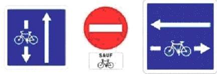 Señales carril bici
