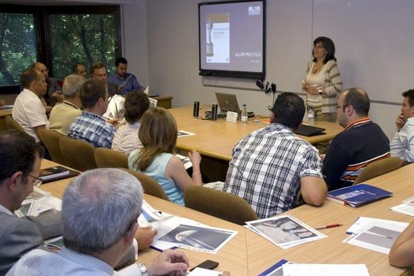 Un curso de formación en comunicación.