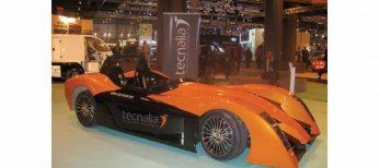 Un coche eléctrico deportivo alcanza los 140 km/h de velocidad punta en 10 segundos