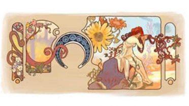 Alfons Mucha es homenajeado en su 150 aniversario