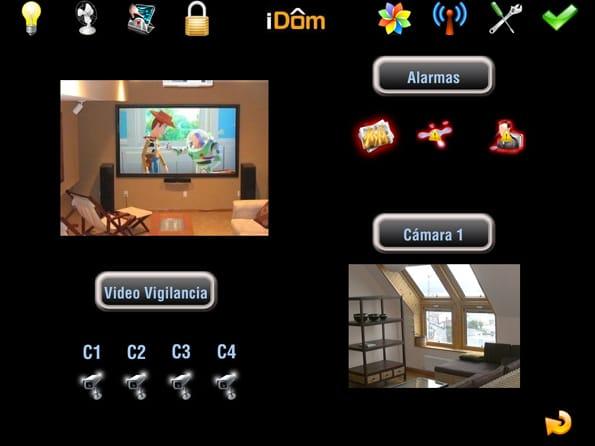 Domótica desde el iPad