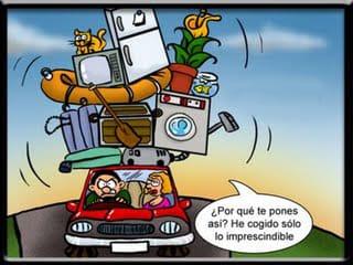 Viñeta de coche con equipaje