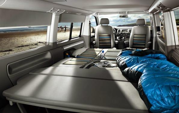 Interior de la caravana California