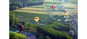 La regata de globos aerostáticos de Haro cumple una década