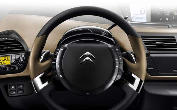 Interior del nuevo Citroën C4 Picasso