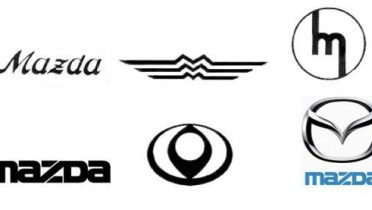 Evolución de los logos de la marca Mazda