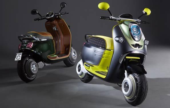 La moto de Mini