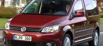 El nuevo Caddy tiene cinco versiones: Furgón, Kombi, Startline, Trendline y Comfortline