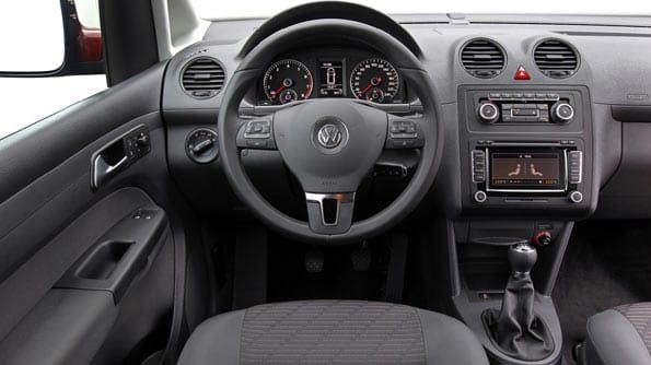 Interior del Volkswagen Caddy