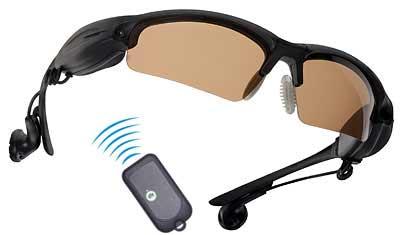 Gafas de sol con mando a distancia