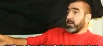 El mítico futbolista francés Cantona propone boicotear a los bancos