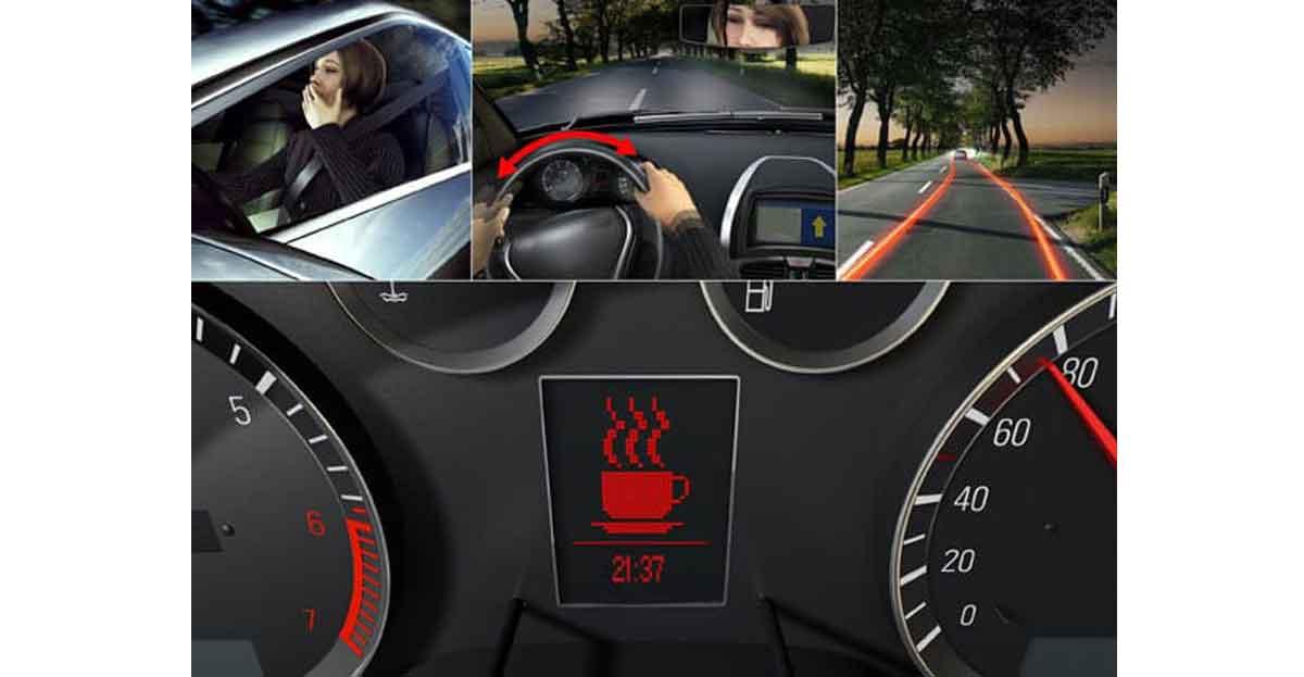 Un sistema reconoce los síntomas de fatiga al volante y alerta al conductor de tomar un descanso