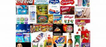 Gastamos 5.400 millones en estas 30 marcas de consumo
