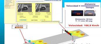 Radares de tramo: ya están activos los de los túneles de Guadarrama y Torrox