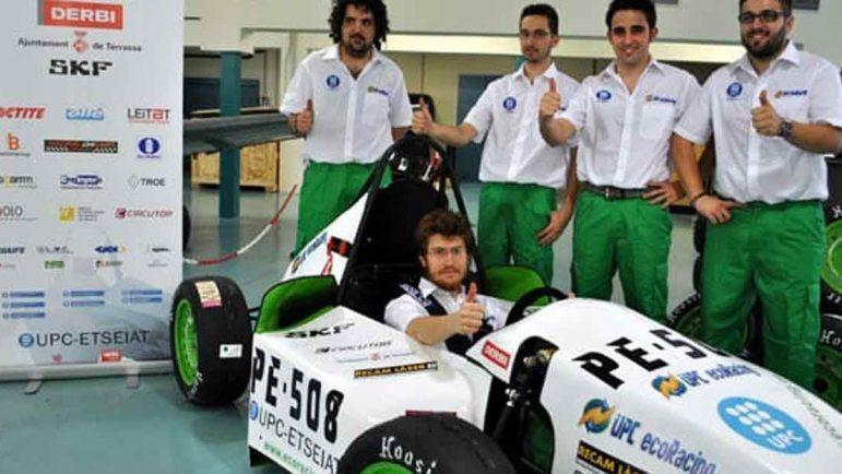 El coche híbrido español de competición se estrenará en la Formula Student