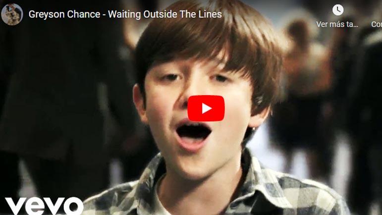Video de una canción de Justin Bieber