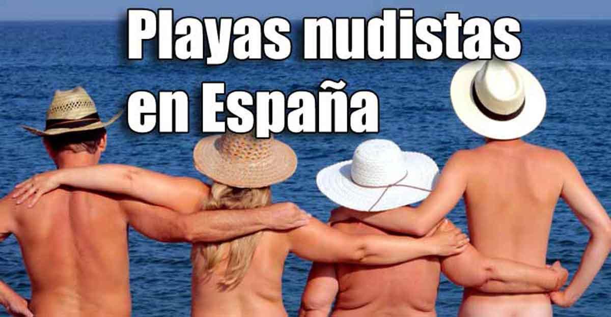 Playas nudistas de España, provincia a provincia