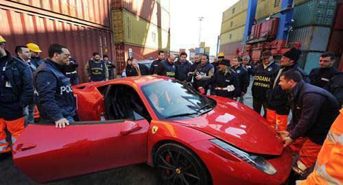 Ferrari robado