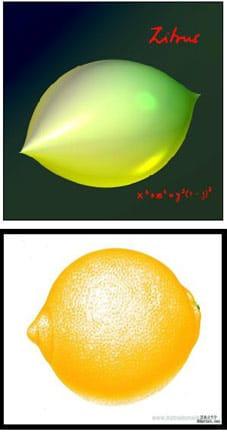 Forma zitrus, de limón
