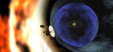 Voyager 1 en el Sistema Solar