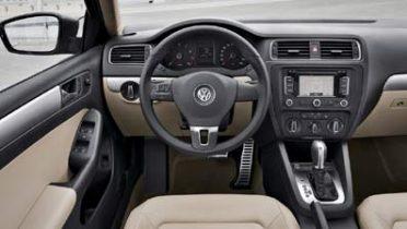 Interior del nuevo Volkswagen Jetta