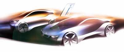 Los BMW i eléctricos e híbridos