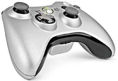 Mando inalámbrico de la Xbox 360.
