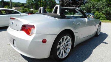 BMW Z4 descapotable segunda mano.