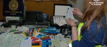 Detenidos por comprar tablets, portátiles y smartphones con documentación falsa por valor de 400.000 euros