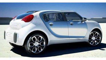 Citroen presenta el C-Cactus, un concept car ecológico y 100% eléctrico