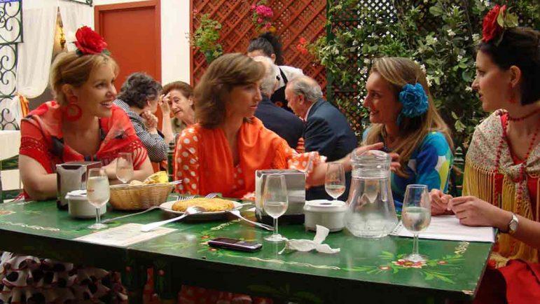 El rebujito, a precio de oro en la Feria de Abril de Sevilla