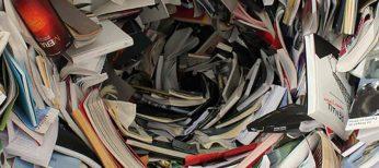 Las ventajas de reciclar: El 90% del papel reciclado es válido para volverse a utilizar