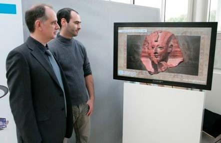 Tecnología 3D sin gafas aplicada en los museos.