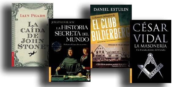 Libros sobre sociedades secretas y conspiraciones